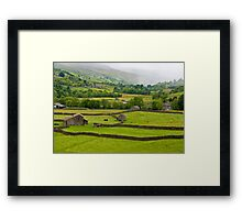 Mist in the Dales Framed Print