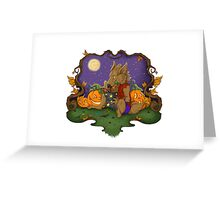 Werewolf Halloween  Greeting Card