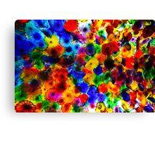 The Bellagio glass flower ceiling Canvas Print