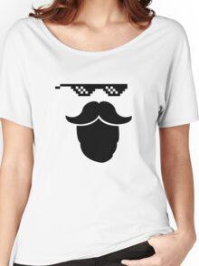Thug Mustache Women's Relaxed Fit T-Shirt