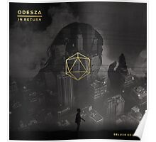Odesza Black & White Poster
