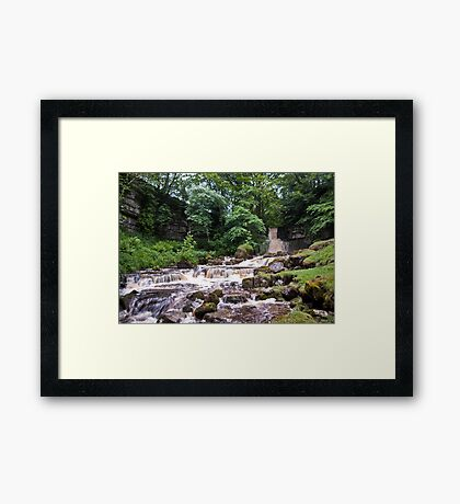 Cliff Beck Falls Framed Print