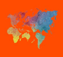 New World Order world map 1 Kids Clothes