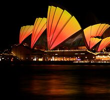Opera House, Vivid Sydney 2011 by Amit Ambardar