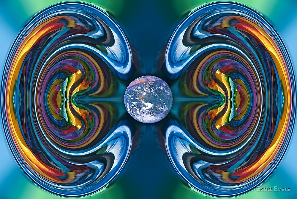 Aurora Equatorialis by Scott Evers
