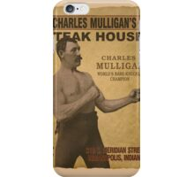 Charles Mulligan's Steak House iPhone Case/Skin