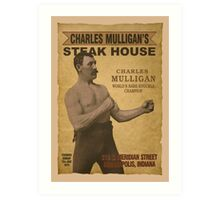 Charles Mulligan's Steak House Art Print