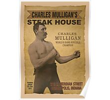 Charles Mulligan's Steak House Poster