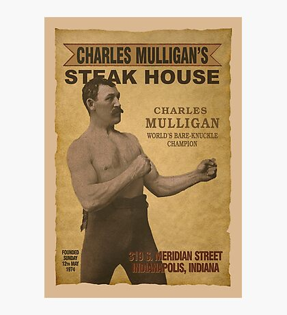 Charles Mulligan's Steak House Photographic Print