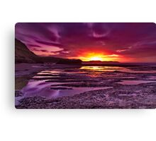 """Jan Juc Ebbtide Dawn"" Canvas Print"