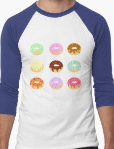 Yummy Pastel Pattern Donuts Doughnuts  T-Shirt
