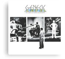 Genesis - The Lamb Lies Down on Broadway Canvas Print