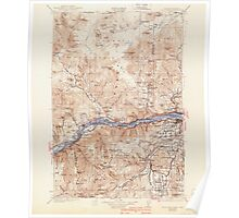 USGS Topo Map Washington Hood River 241563 1929 125000 Poster