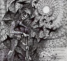 The Sculpture's Despair. by nawroski .