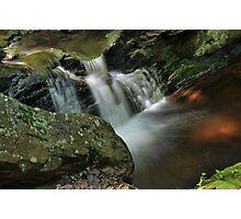 Water Movement - Tillman Ravine Photographic Print