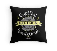 Capital Wasteland Throw Pillow