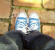 My blue chuckies by auntielottie