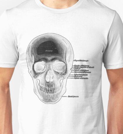 anatomy Skull Unisex T-Shirt