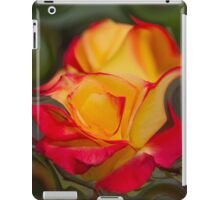 abstract roses in the garden iPad Case/Skin