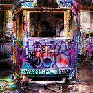 Purple Tram by clydeessex