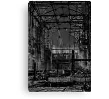 Darkness Overwhelmed Pennsylvania Station 1965 Canvas Print