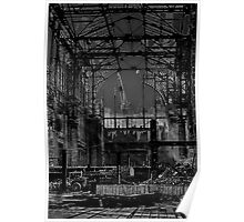Darkness Overwhelmed Pennsylvania Station 1965 Poster