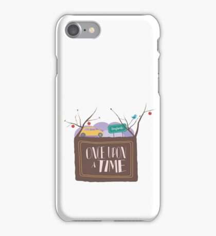 Once Upon A Time In Storybrooke;  iPhone Case/Skin