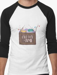 Once Upon A Time In Storybrooke;  Men's Baseball ¾ T-Shirt