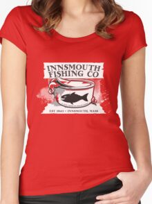 Innsmouth Fishing Co Women's Fitted Scoop T-Shirt