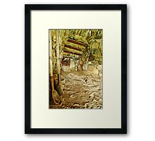 Tools and Hearth Framed Print