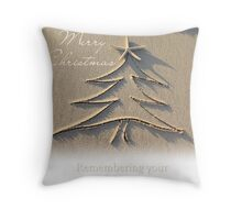 Remembering a Daughter - Christmas Throw Pillow