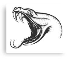 Snake Head Canvas Print