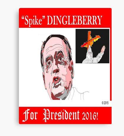 Spike Dingleberry Canvas Print