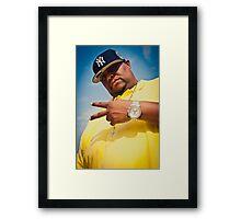 Big Homie Framed Print