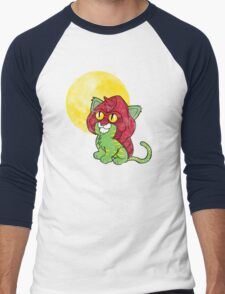 Battlekitty Men's Baseball ¾ T-Shirt