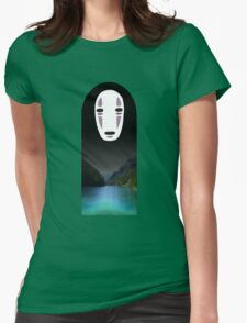 No Face- Spirited Away Womens Fitted T-Shirt