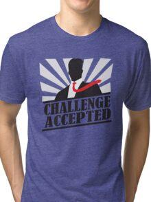 Challeng Accepted Tri-blend T-Shirt