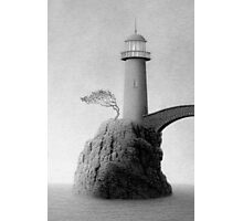 Lost Harbor Light Photographic Print
