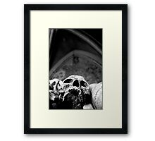 The ambiguity of our condition Framed Print