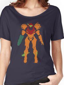 Samus Aran Splattery T Women's Relaxed Fit T-Shirt