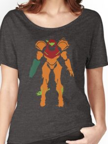 Samus Aran Splattery T Women's Relaxed Fit T-Shirt
