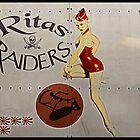 Vintage Pinup Nose Art Ritas raiders by cinemaphoto