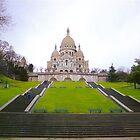 Sacre Coeur Basilica, Paris by Alberto  DeJesus