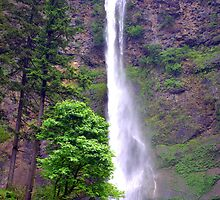 """Upper Multnomah Falls"" by Lynn Bawden"