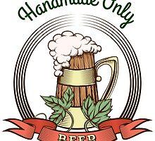 Beer Mug in Vintage Style by devaleta