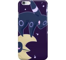 Umbreon and Lunatone iPhone Case/Skin