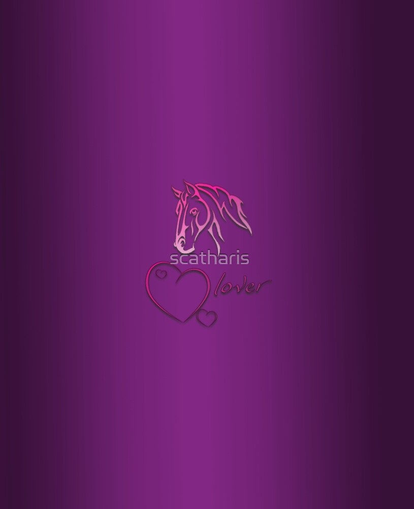 """""""Horselover"""" violet edit by scatharis"""