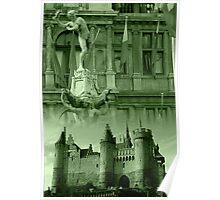 Brabo - 't Steen - Antwerp Poster
