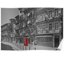 Porto phone box Poster