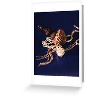 jewellery blue Greeting Card